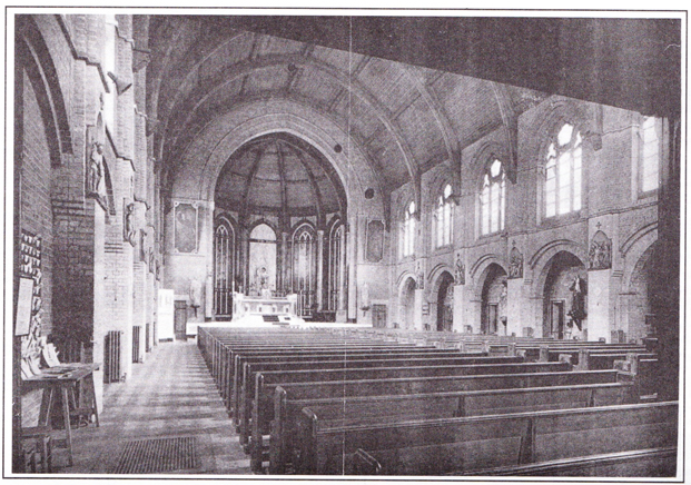 The interior of the old St George's