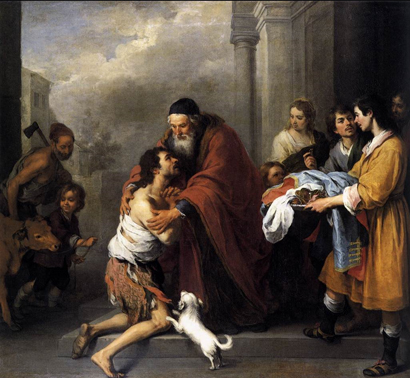 The Return of the Prodigal Son by Murillo